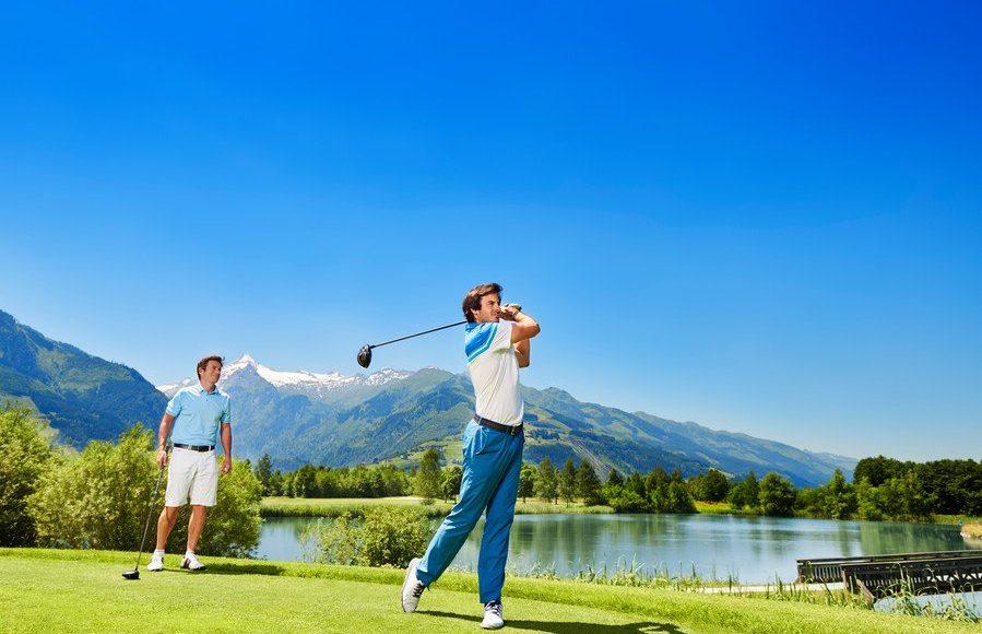 Leren zwemmen, fietsen, en golfen in Zell am See